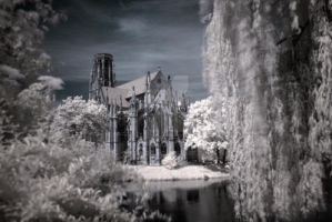 Infrared Church by Finvara