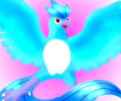 Articuno- The Cute One by Twilight-Spirit-Wolf