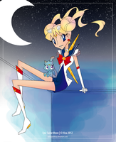Epic Sailor Moon by KobayashiHisa