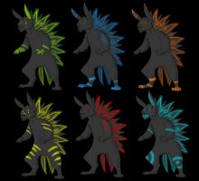 Neon Bunnies 15pts #1 left by Leland-Adopts