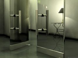 Glass Doors by chromosphere