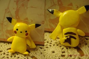 Pikachu by Kago-The-Kitty