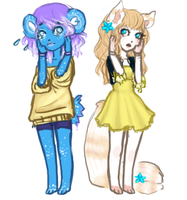 Sweet Girls by Petite-Colette