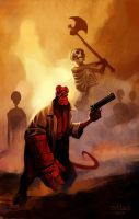 Hellboy, The Lost Army by sebtuch