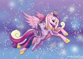 Cadence and Twilight by daisyamnell