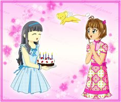 Happy birthday dear friend by spring-sky