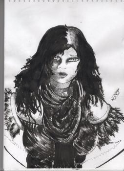 Quick Yennefer Fanart - Witcher 3 by DancingSoldier