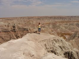 Badlands and me by oOToetjeOo