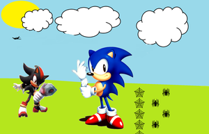 sonic and shadow 2 by mephiles-the-dark321