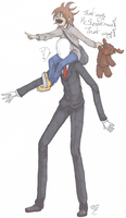 That way Mr. Slenderman! by SqueekyTheBalletRat