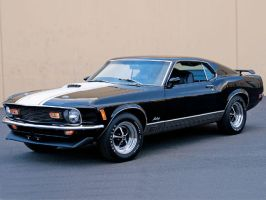 1969 Ford Mustang Mach 1 by darqueraven
