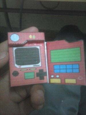 pokedex papercraft finished by ART-STEVAN