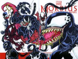VENOM sketch cover 2014 by mdavidct