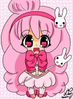 Pink Bunny by DaisyPhantom