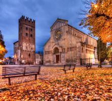 San Zeno in autumn by Runfox