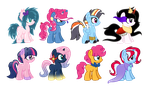 COM - Shipping Foals [CLOSED] by Bunnylovesadoptables