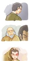 Zuko and Iroh by Mushstone