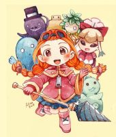 Gurumin A Monstrous Adventure by revanche7th