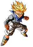 Trunks GT Super Saiyan Render by ProjectsAlex