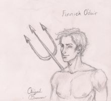 Finnick Odair by LifeUpsideDown