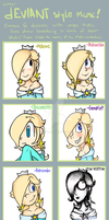 Deviant Style Meme: Rosalina is here! by MrBowz