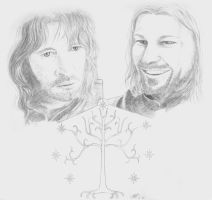 Sons of Gondor by Shaliara