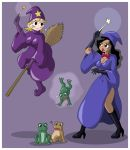 Fairy GodMILF VS Witch Emanon by emanon333