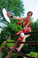 Mai Shiranui KOF by Giorgiacosplay