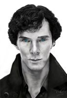 Sherlock - Digital Airbrush by LPSoulX