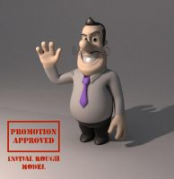 Animation character model by Guido37