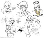 Scamander Doodles by Hasana-chan