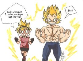 Grandpa's Little Competition by Swamnanthas