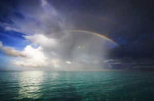 Pacific Rainbow by ianjeanneret