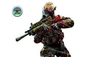 Render Game Call Of Duty Black Ops 2 by Mateoart