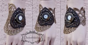 Openwork Lace Watch Cuff by Pinkabsinthe
