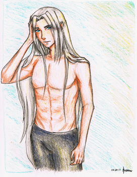 shirtless by MsHoThEaD