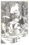 Alice at the Tea-table by maryanne42