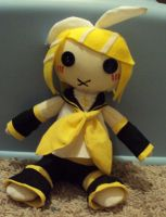 Rin Plush by Levitas-Rain