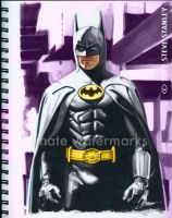 Batman Sketchbook art by SteveStanleyArt