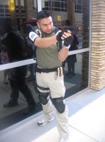 Anime Vegas Resident Evil Chris Redfield by Demon-Lord-Cosplay