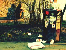 rubbish-gang by CorinaCorry