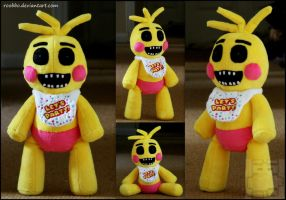 Five Nights At Freddy's Toy Chica Plush by roobbo