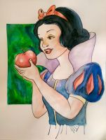 snow white  by Barfly1986