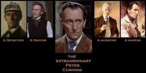 Le Extraordinary Peter Cushing by BlueBeacon