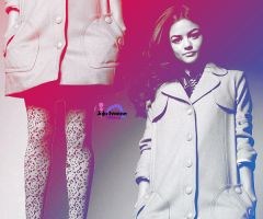 Lucy Hale PinkBlue 1 by Sweet-Tizdale