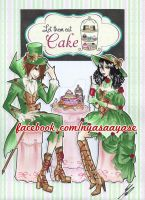 Let them eat cake by KawaiiSweet-Nyasa