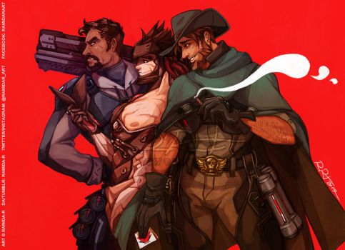 The Blackwatch Boys by ramida-r