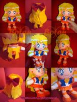 chibi Sailor Venus plush ver. by Momoiro-Botan