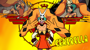 Cerebella Borderlands Crossover by FullMetalPikmin