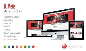 ByJoomla template - B.Metis 60% OFF by byjoomla
